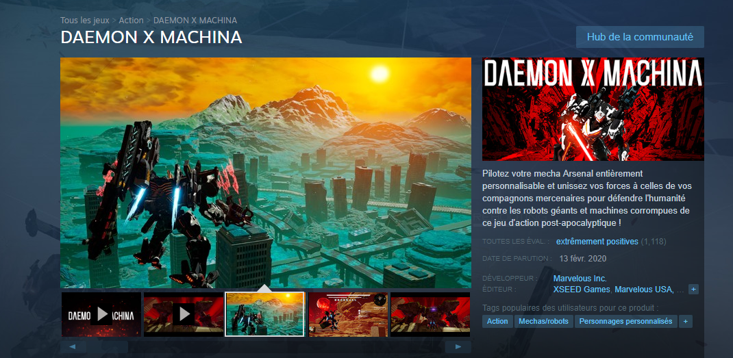 Deamon Machina Steam