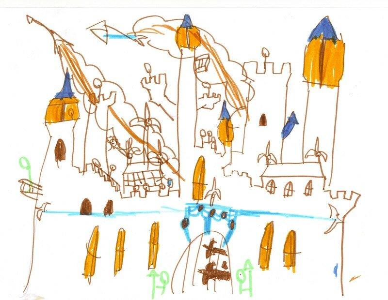 5 ans - chateau attaqué