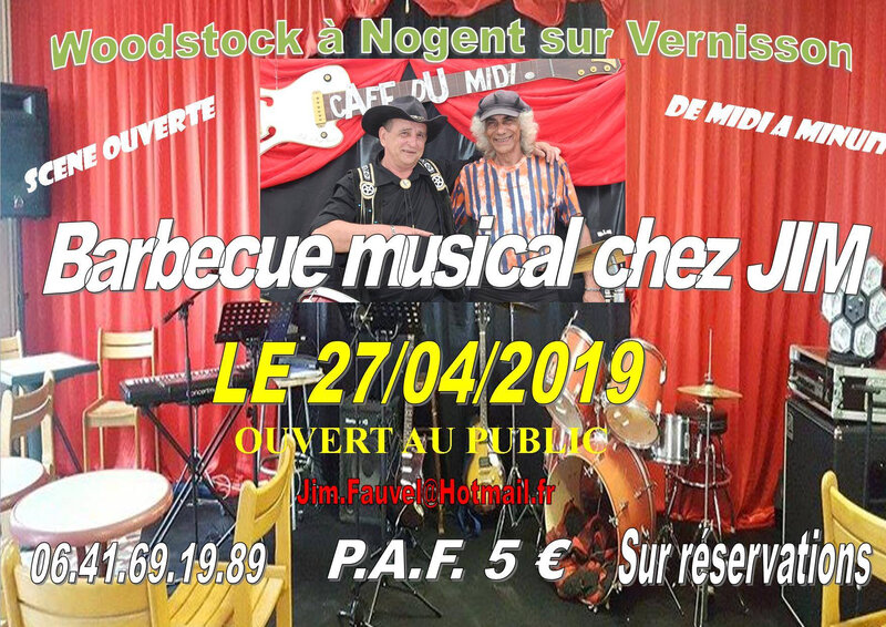 barbecue musical nogent