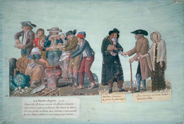 Le 21 décembre 1789 à Mamers : charité pour les fêtes de Noël.
