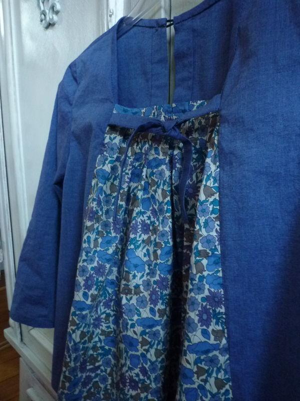 tunique jeanne inspirée des précédentes japonaiseries