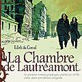 La chambre de lautréamont, un roman graphique original!
