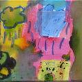 2009 Encre et peinture sur toile de Diane