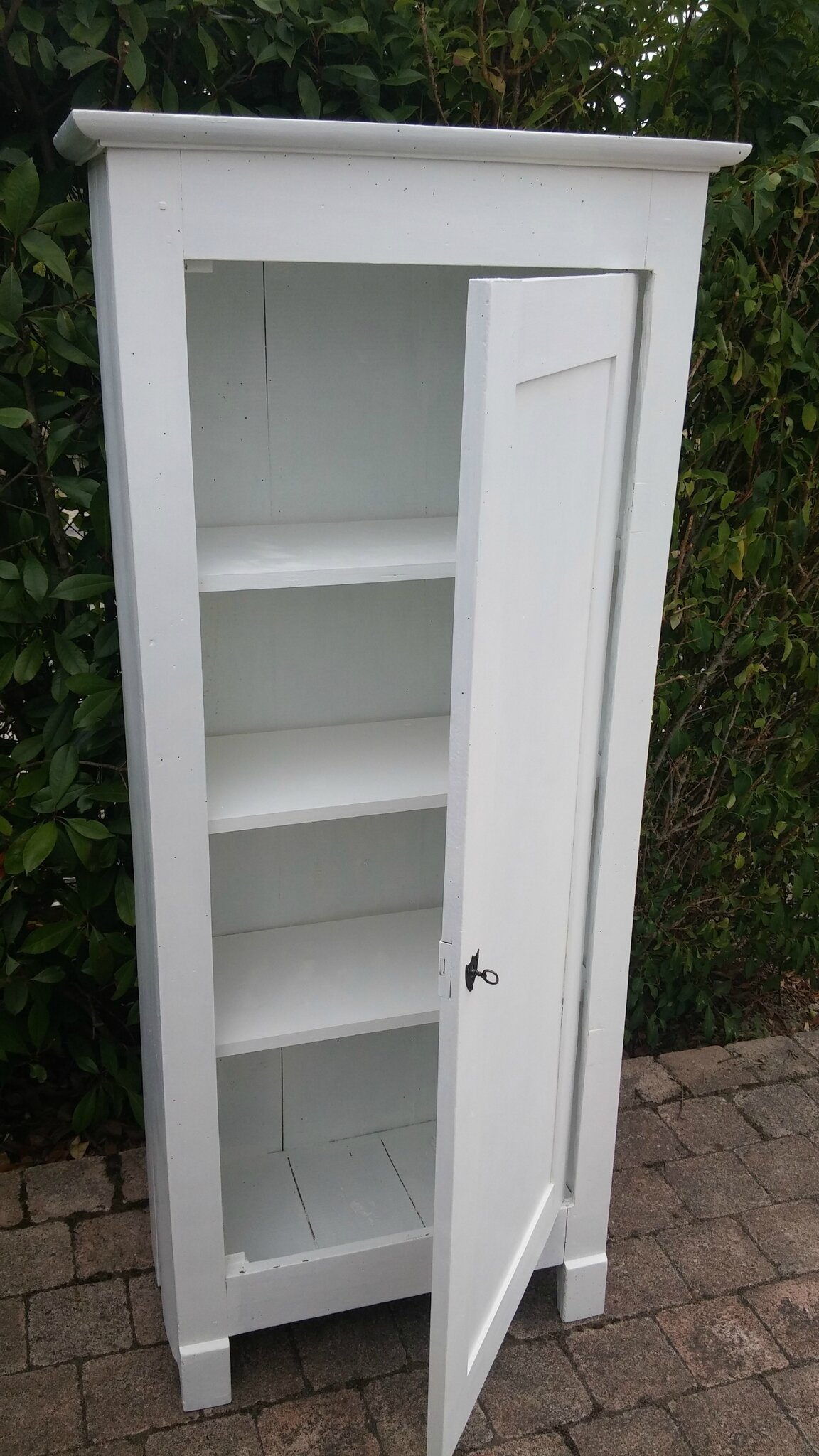 Petite armoire blanche 2 - Photo de Armoires - Grenier & Patines 45