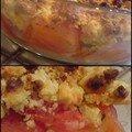 Le crumble tomate oignon parmesan