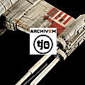 Xwing red5 mpc replica 1/43 - concours archivex
