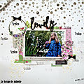 Une page made in les ateliers de karine