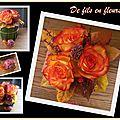 Composition florale de novembre