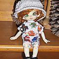 Tuto : un chapeau au crochet pour pukifée ou autres poupées