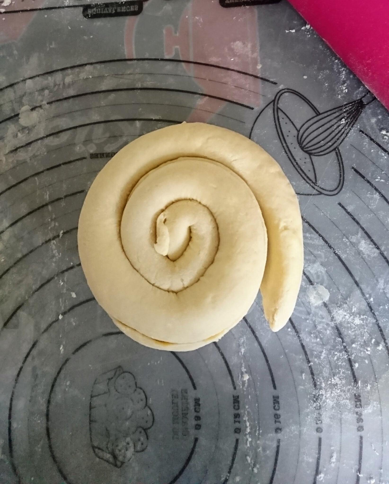 "Pâte feuilletée méthode ""escargot"" au Companion"