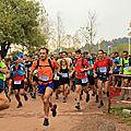 Trail du salagou 13 octobre 2018