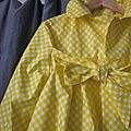 Ciré vichy jaune (5)