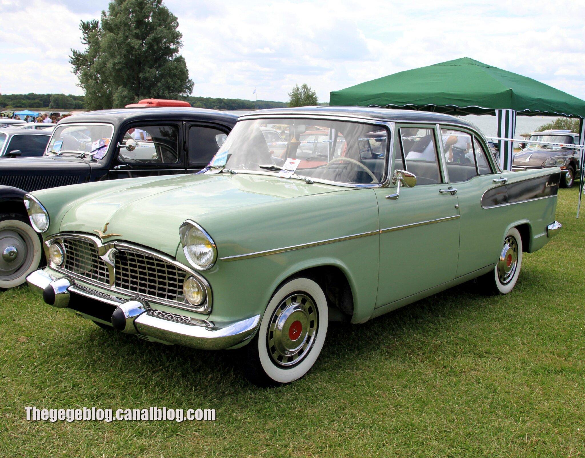 Simca vedette beaulieu (1957-1961)(Retro Meus Auto Madine 2012) 01