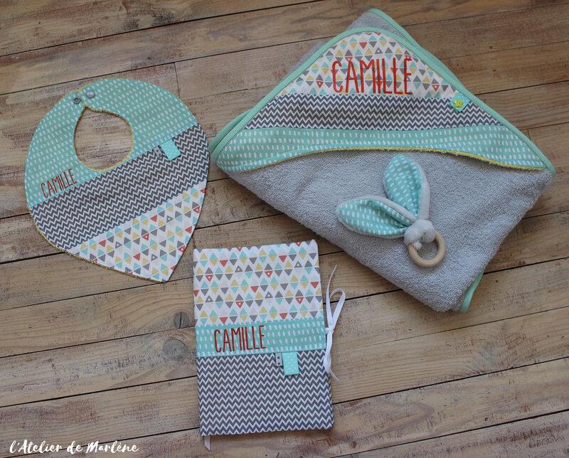 kit naissance bébé Camille