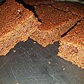 Fondant moelleux chocolat crème de marron, sans oeuf