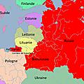 Poutine prépare tranquillement l'invasion des pays baltes.