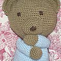 Teddy bear au crochet 2