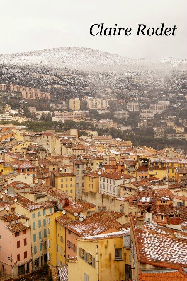 Il neige à Grasse!