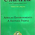 Face à la crise écologique en afrique : engagement, indifférence ou démission ?