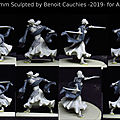 Suite des sculptures de 2019 , figurines fantastiques / 2019 sculptures: suite , fantastic figurines