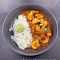 Curry de madras au poulet