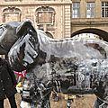 l'éléphant devant la mairie