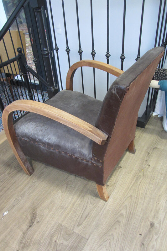 fauteuil années 30