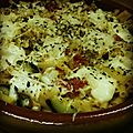 Gratin de macaronis à la sicilienne