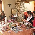 atelier 1er février avec Emeline, Camille, Aurore et Marine