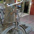 La dure vie d'un vélo
