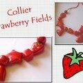 Collier StrawberryFields