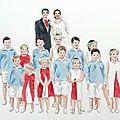 Dans la série des aquarelles de cortège de mariage....