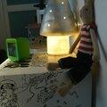 My Cube tabouret table en carton à personnaliser à colorier chambre enfant deco champignon Egmont Toys lapin Maileg (5)