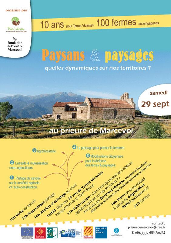 Flyer paysans paysages 29-9 Marcevol