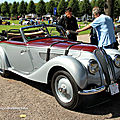 La bmw 328 cabriolet carrossé par wendler de 1938 (9ème classic gala de schwetzingen 2011)