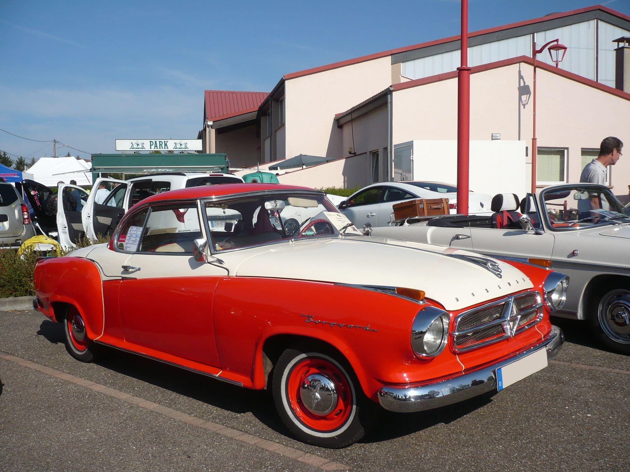 BORGWARD Isabella coupé 1959 Hambach (1)