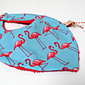 Bandana flamands roses
