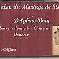 Delphine BERG, Coiffeuse à domicile
