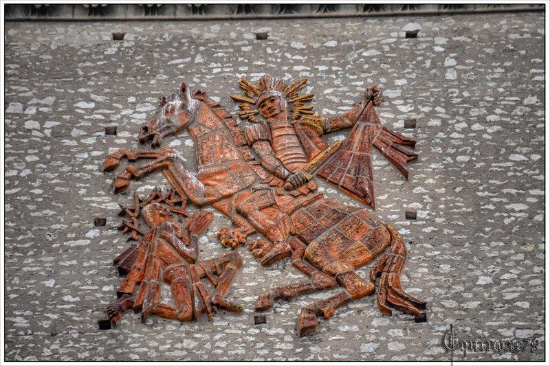 La Tour Charlemagne, vestige de l'ancienne basilique Saint-Martin (Grégoire) de Tours (11)