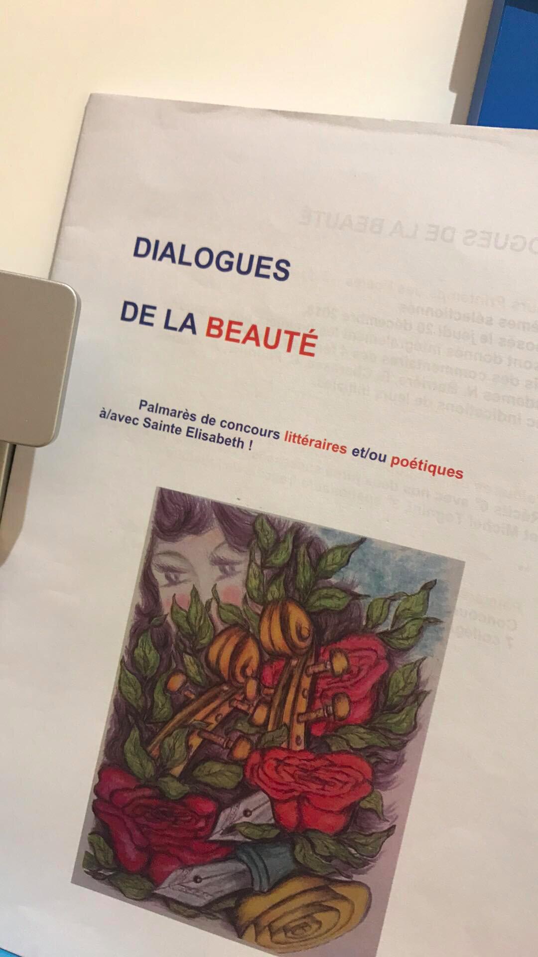 Remise des prix littéraires et poétiques Mardi 4 juin 2019 12h15-12h45 Gymnase du haut 6e et 5e