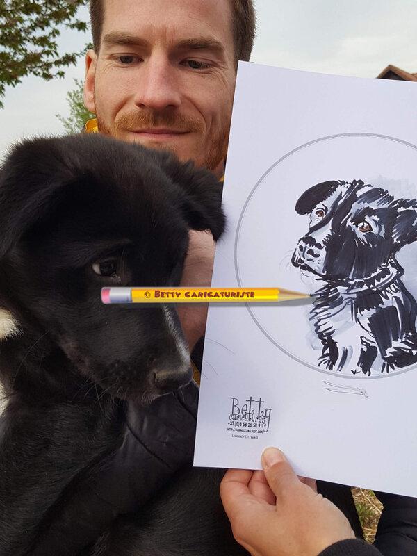 caricature enfant cartoonist children birthday anniversaire france (8)
