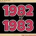 .CLASSE en : 1982 / 83