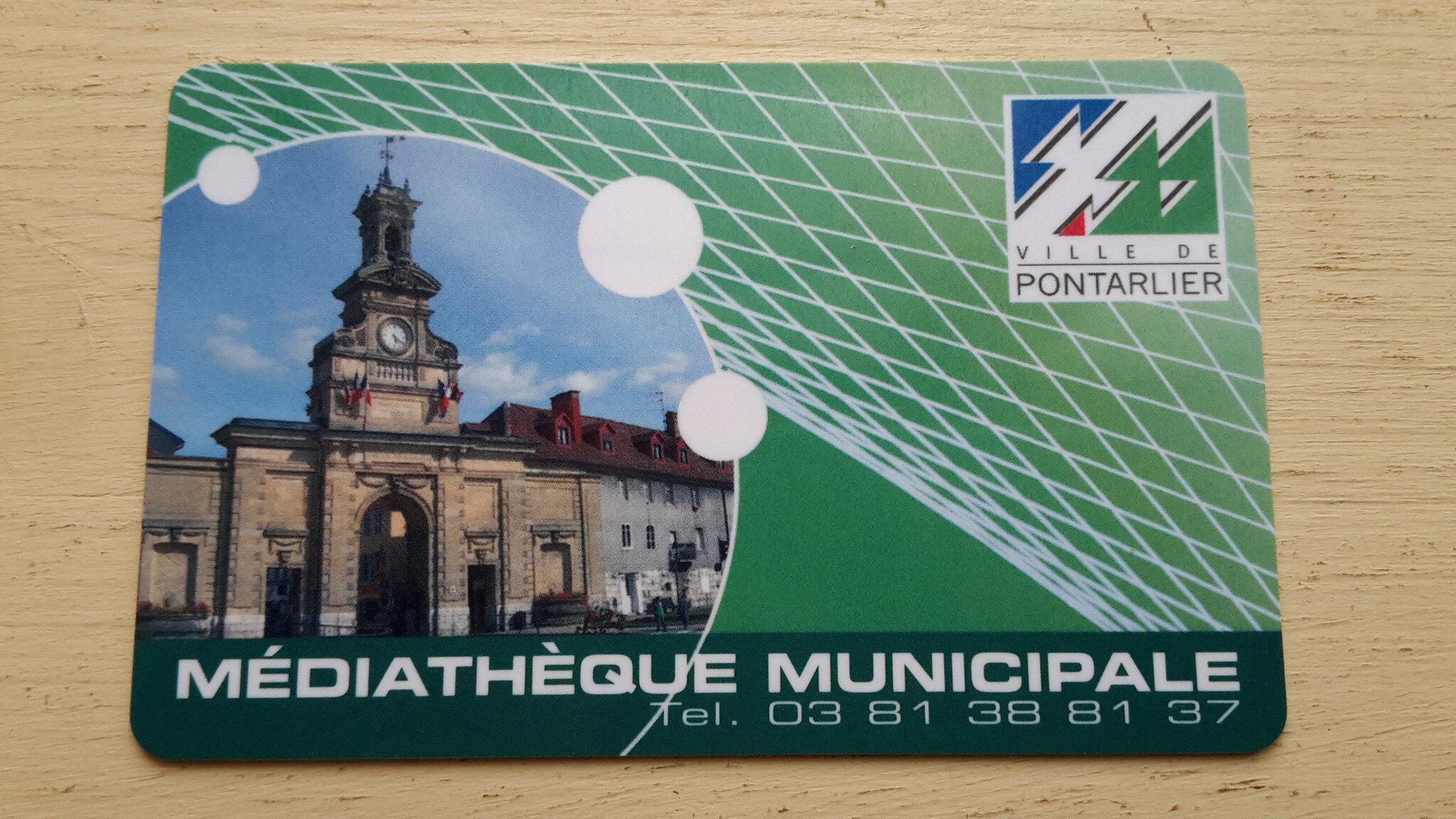 Médiathèque municipale de Pontarlier