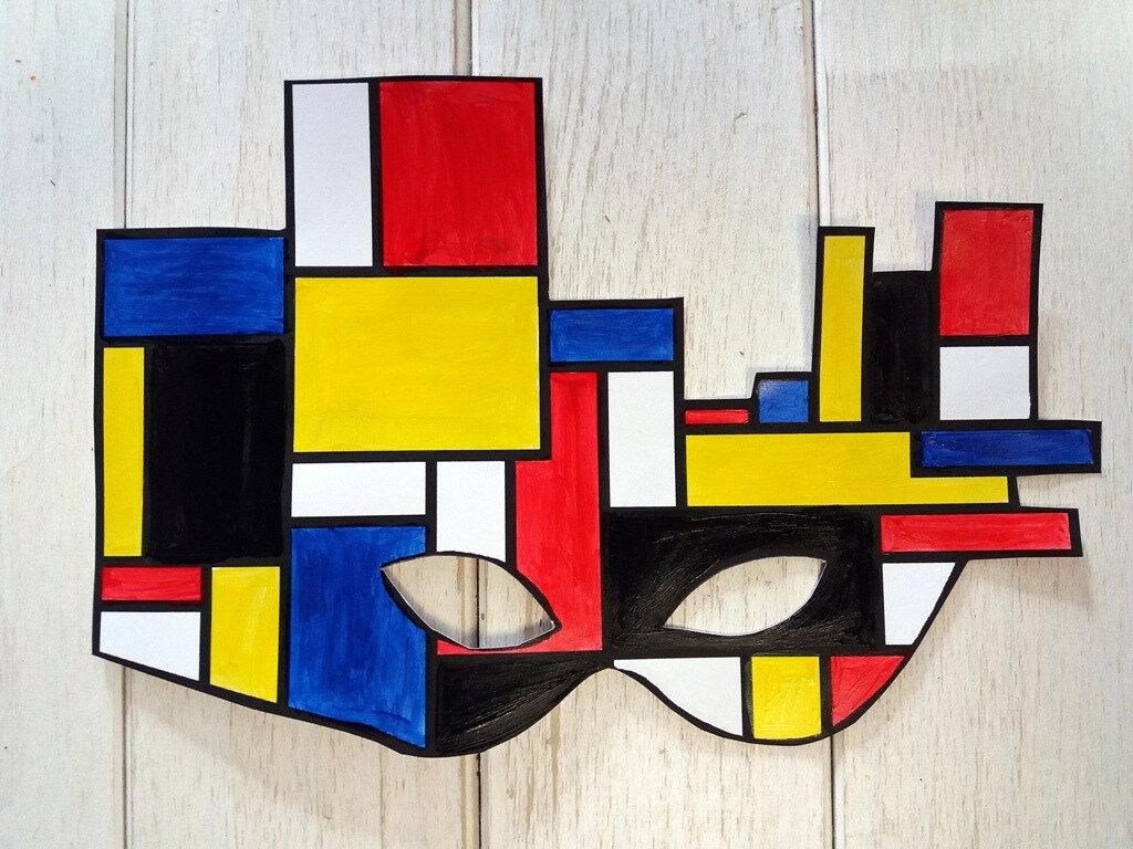 Masque Mondrian