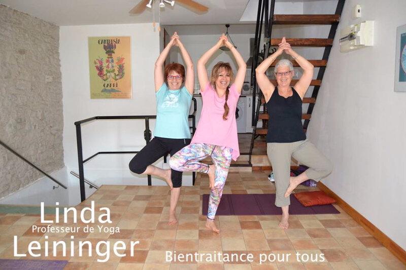 Linda Leininger Naturopathe - Linda Leininger Professeur de Yoga - à tous les âges