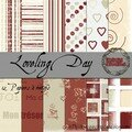 Kit Loveling Day : Papiers à motifs