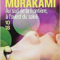 Au sud de la frontière, à l'ouest du soleil - haruki murakami (1992)