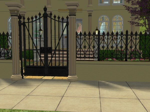 petit passy maisons deco sims2. Black Bedroom Furniture Sets. Home Design Ideas
