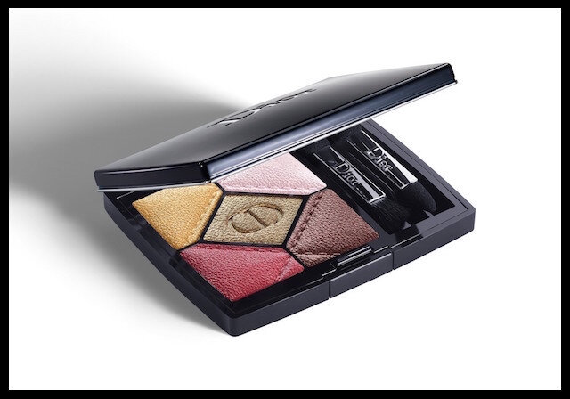 dior en diable palette regard couture 5 couleurs devilish