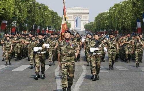 Armée française Défilé du 14 juillet